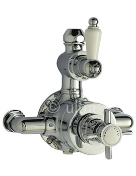 Ultra Beaumont Twin Exposed Thermostatic Shower Valve - A3056