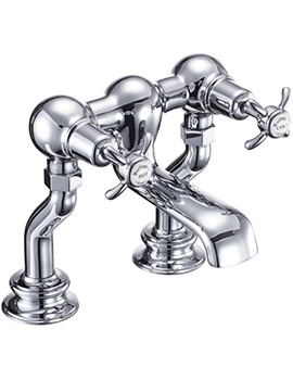 Anglesey Regent Deck Mounted Bath Filler Tap - ANR23