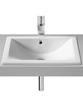 Diverta In Or Under Countertop Basin 500mm Wide - 327114000