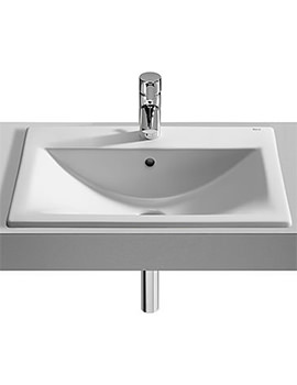 Roca Diverta In Countertop Basin 550mm Wide - 327116000