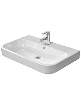 Related Duravit Happy D2 White 650 x 505mm Furniture Washbasin - 2318650000