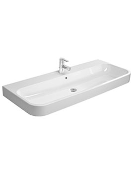 Related Duravit Happy D2 White 1200 x 505mm Furniture Washbasin - 2318120000