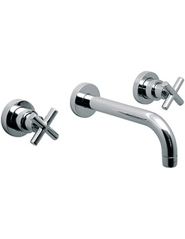 Elements Water 3 Hole Bath Filler Tap With 200mm Long Spout