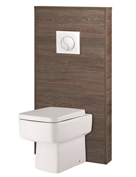 Related Hudson Reed Horizon Mid Sawn Oak Slimline WC Unit - CAB246
