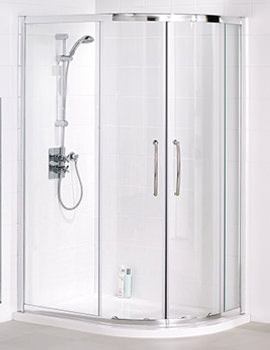 Lakes Offset Quadrant Shower Enclosure 1200 x 800mm