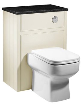 Related Roper Rhodes Hampton 600mm Back To Wall WC Unit Vanilla - HAM600BTW.VN