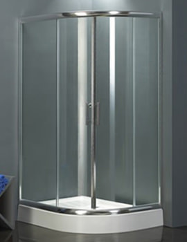 Related Aqva Quadrant Shower Enclosure Chrome 1200 x 1200mm