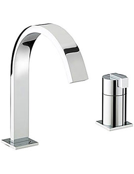 Chill 2 Hole Bath Filler Tap Chrome - CL 2HBF C
