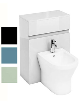 Related Britton Aqua Cabinets D300 White Back To Wall Bidet Unit - B31W