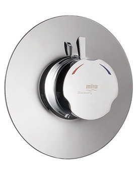 Discovery Concentric Built-in Shower Valve Chrome - 1.1595.005