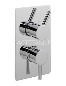 Sagittarius Ergo Lever Concealed Thermostatic Shower Valve