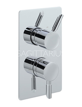 Related Sagittarius Rocco Concealed Thermostatic Shower Valve