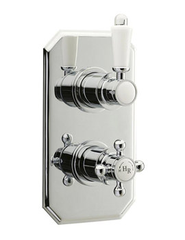 Related Hudson Reed Traditional Twin Concealed Thermostatic Shower Valve-A3031C