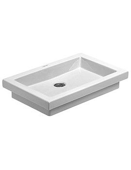 Duravit 2nd Floor 580 x 415mm Countertop Vanity Basin