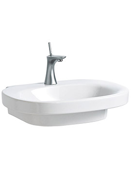 Mimo 650 x 440mm Undersurface Ground Basin Without Tap Hole