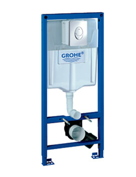 Related Grohe Rapid SL Skate 3 In 1 Frame Set For WC - 38721 001