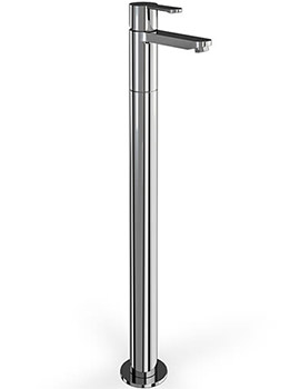 Crystal Single Lever Tap With Floor Mounted Leg