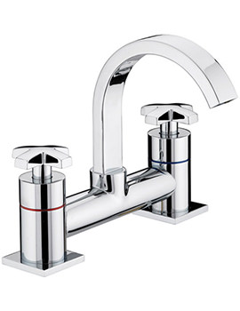 Moloko Chrome Plated Bath Filler Tap - MLK BF C