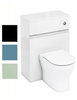 Related Britton Aqua Cabinets D300 BTW WC Unit With Push Button - W31W