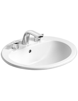 Armitage Shanks Orbit 21 Counter Top 550mm 3 Tap Hole Basin