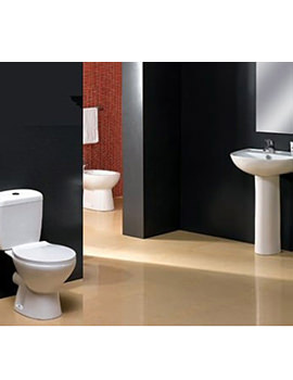 Aqva Milan Washroom 4 Piece Suite - AQVA-LMK839+MG309