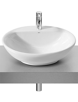 Fontana White On Countertop Basin 600mm Wide - 327877000