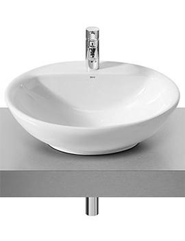 Fontana White On Countertop Basin 600mm Wide - 327877000
