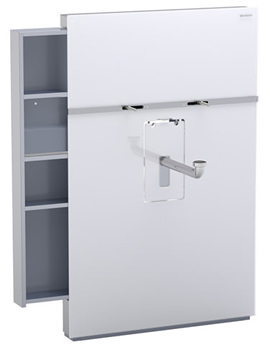 Geberit Monolith Sanitary Module For Wall-hung Washbasin With Drawer Left