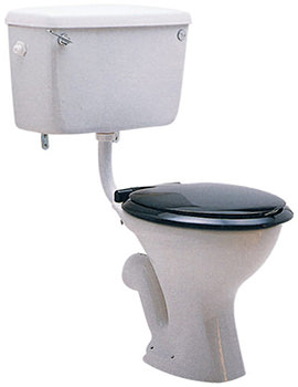 Classic Low Level WC Pan With Horizontal Outlet 710mm