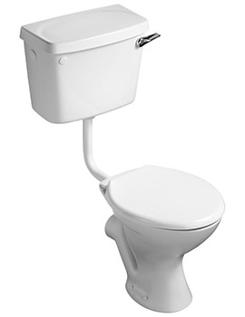 Sandringham Magnia Low Level WC Pan With Seat