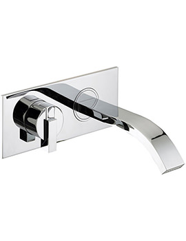 Chill Wall Mounted Bath Filler Tap Chrome - CL WMBF C