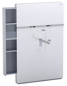 Geberit Monolith Left Drawer Sanitary Module - 131.048.SI.1