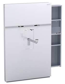 Geberit Monolith Right Drawer Sanitary Module - 131.049.SI.1