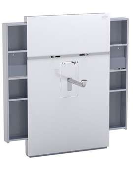 Geberit Monolith Left And Right Drawer Sanitary Module - 131.050.SI.1