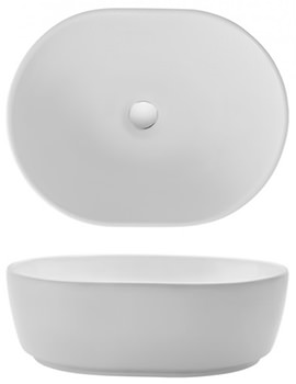 Gallery Pearl 450mm Countertop Basin Without Overflow