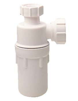 Twyford 1 And Quarter Inch P Outlet Bottle Trap - WF8482XX