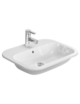Happy D2 600 x 460mm Countertop Vanity Basin - 0483600000