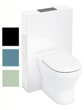 Related Britton Aqua Cabinets Tablet BTW WC Unit With Flush Plate - W35W