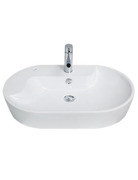 Related Beo 400 x 700mm Counter-top Washbasin - TP172