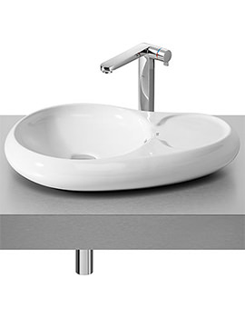 Urbi 7 On Countertop Basin 600mm x 400mm - 327227000