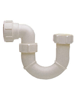 1 And Half Inch P Outlet Tubular Bottle Trap - WF8493XX