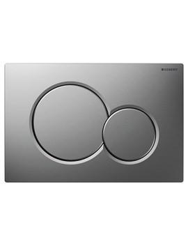 Geberit Sigma01 Dual Flush Plate Matt Chrome - 115.770.46.5