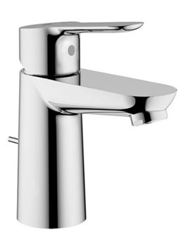 BauEdge Basin Mixer Tap With Pop Up Waste Set Chrome - 23356000