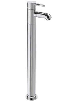 Milan Floor Mounted Bath Filler Tap Chrome - 63541