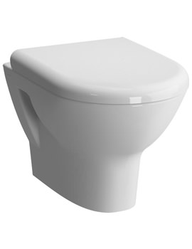 Zentrum 500mm Wall Hung WC Pan And Toilet Seat
