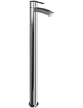 Sapphire Single Lever Bath Filler Tap With Floor Mounting Legs