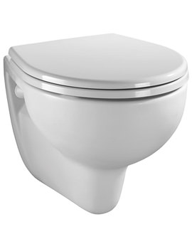 Twyford Alcona Wall Hung WC Pan 520mm - AR1738WH