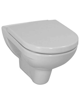 Pro White Wall Hung WC Pan 560mm Projection