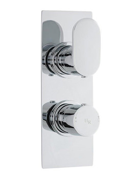 Related Hudson Reed Reign Twin Concealed Thermostatic Shower Valve - REI3210