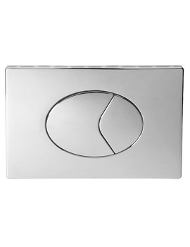 Dual Flush Air Button With Plastic Large Plate 150x230mm